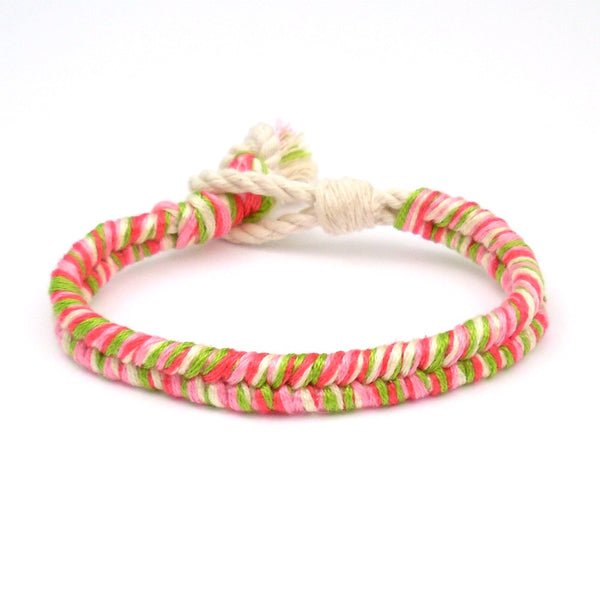watermelon summer bracelet
