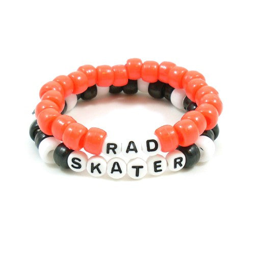 rad skater girl bracelet pack
