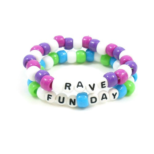 rave party summer bracelets