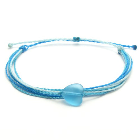 Deep Ocean Braided Wax Bracelet