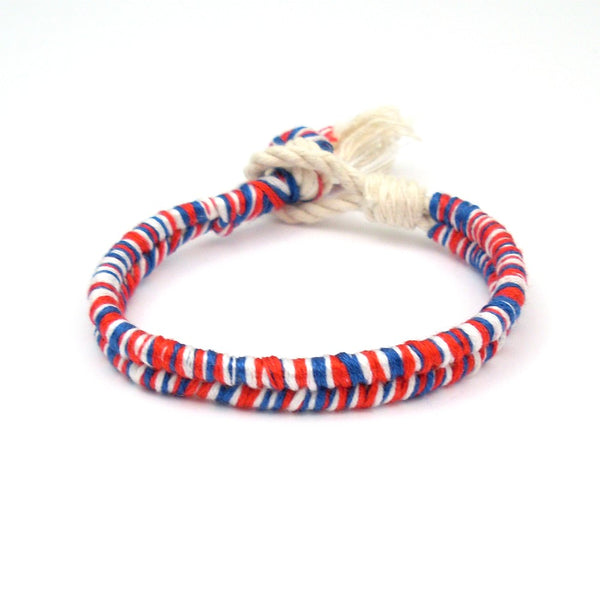 4th of July Beach Bracelet