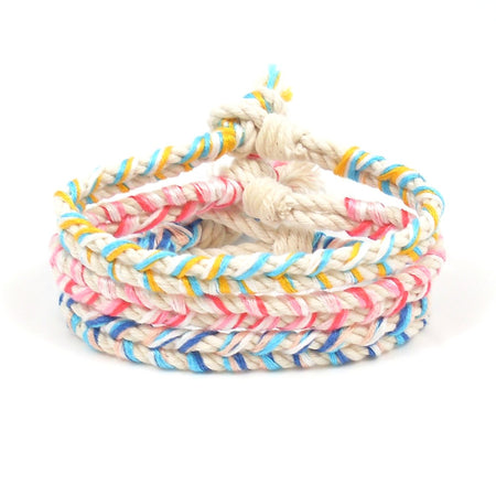 Christmas by the Sea Beach Bracelet Stack