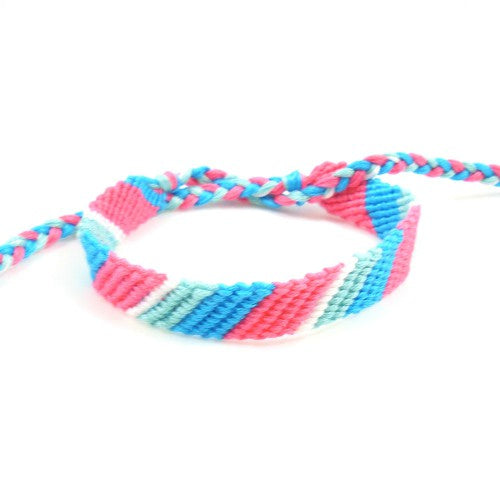 tropical punch friendship bracelet