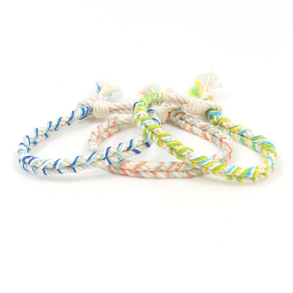 set of three summer lovin bracelets