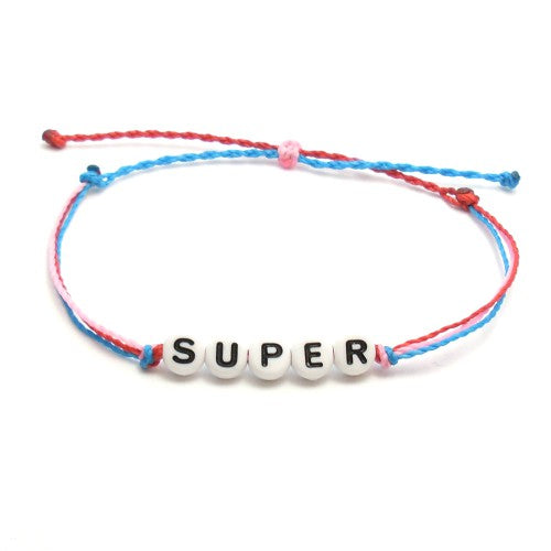 word bracelets for summer