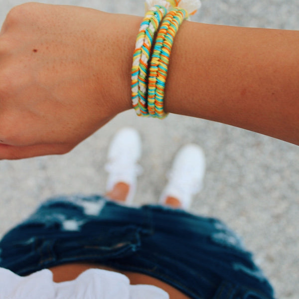 tropical beach bracelets