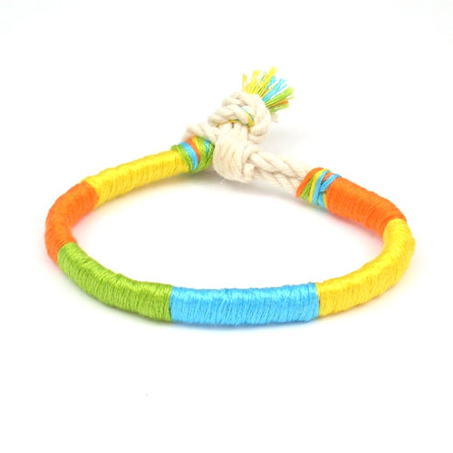 tropical summer bracelet