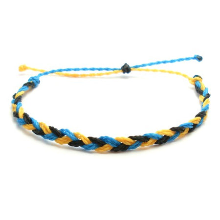 Beachy Summer Braided Wax Bracelet