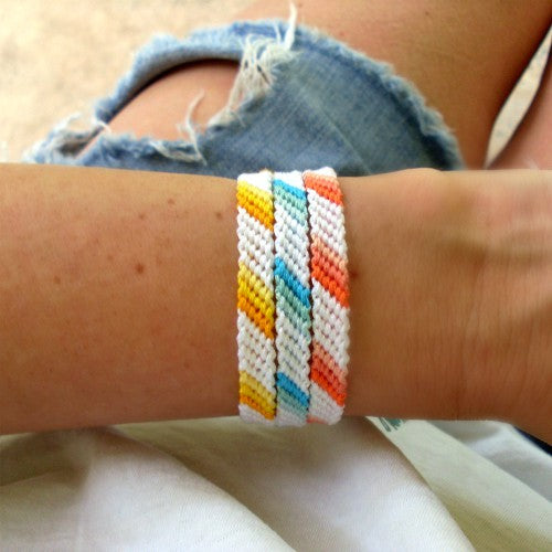 Ombre Braided Friendship Bracelets