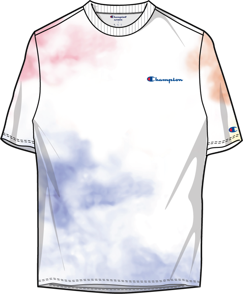 Men's Champion Cloud Dye Short Sleeve Tee