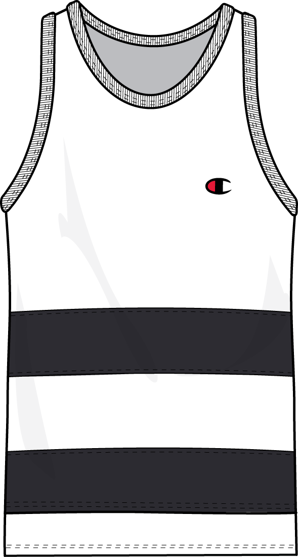 Men's Champion Pieced Jersey Tank