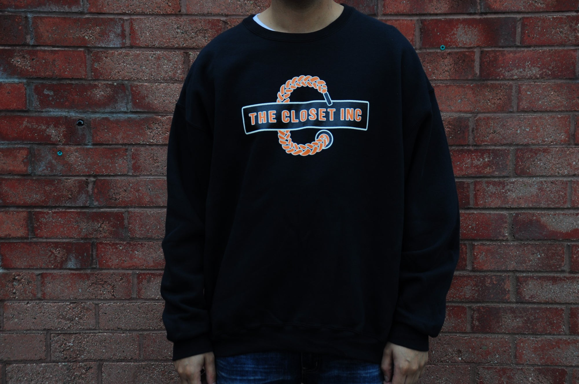 TEAM CLOSET X SHATTERED BACKBOARD CREWNECK
