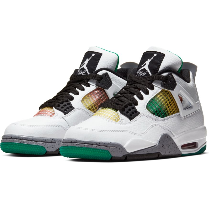 "Womens Air Jordan 4 Retro ""Rasta"""