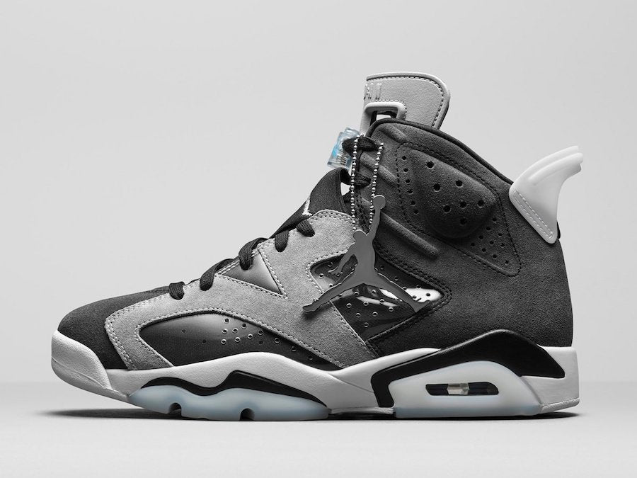 "Women's Jordan 6 Retro ""Black Chrome"""