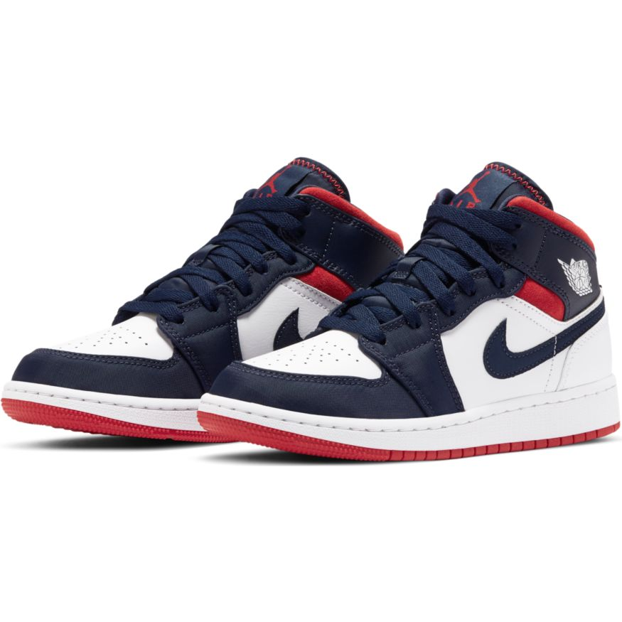 Big Kids'Air Jordan 1 Mid SE Shoe