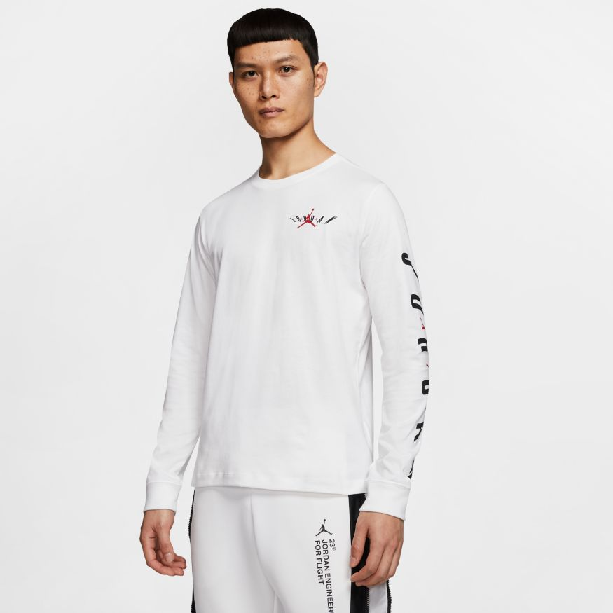 "Jordan Air ""Swerve"" Men's Long-Sleeve T-Shirt"