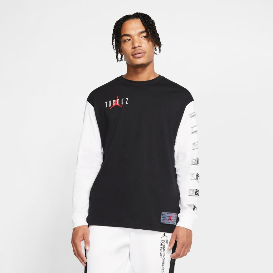 Jordan Legacy AJ11 Men's Long-Sleeve T-Shirt