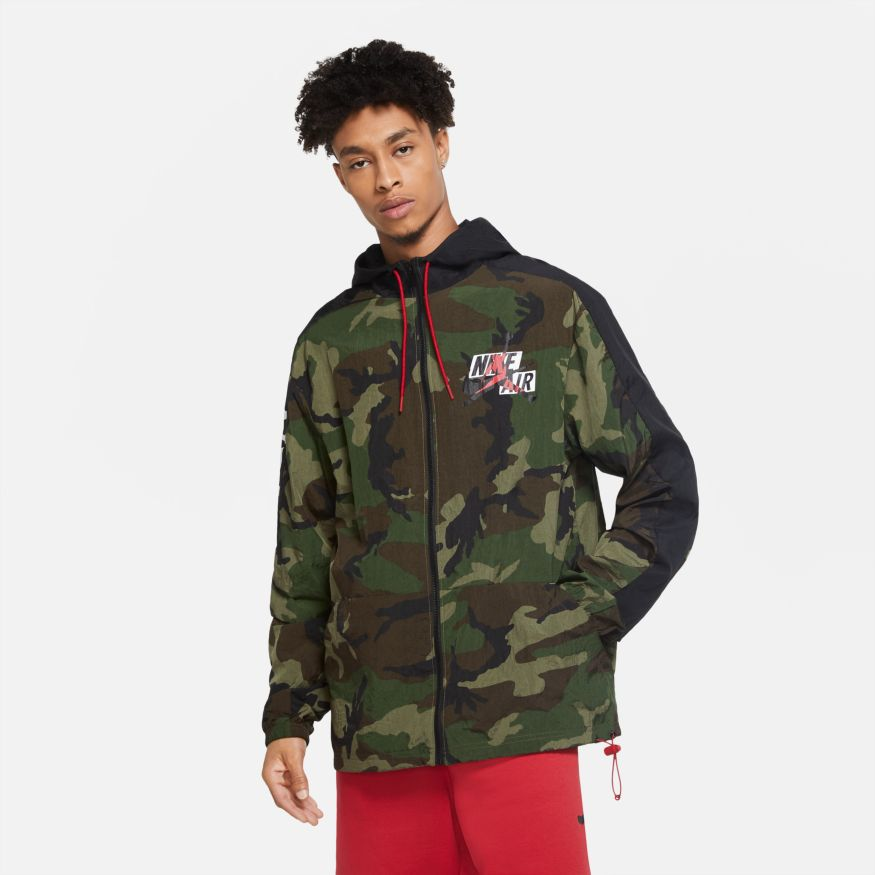 Men's Jordan Jumpman Classics Camo Windbreaker
