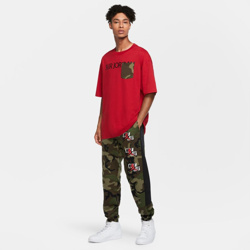 Men's Jordan Jumpman Classics Camo Fleece Pants