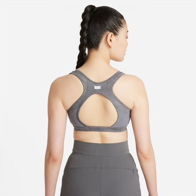 Women's Nike Swoosh Femme Medium-Support 1-Piece Pad Printed Sports Bra