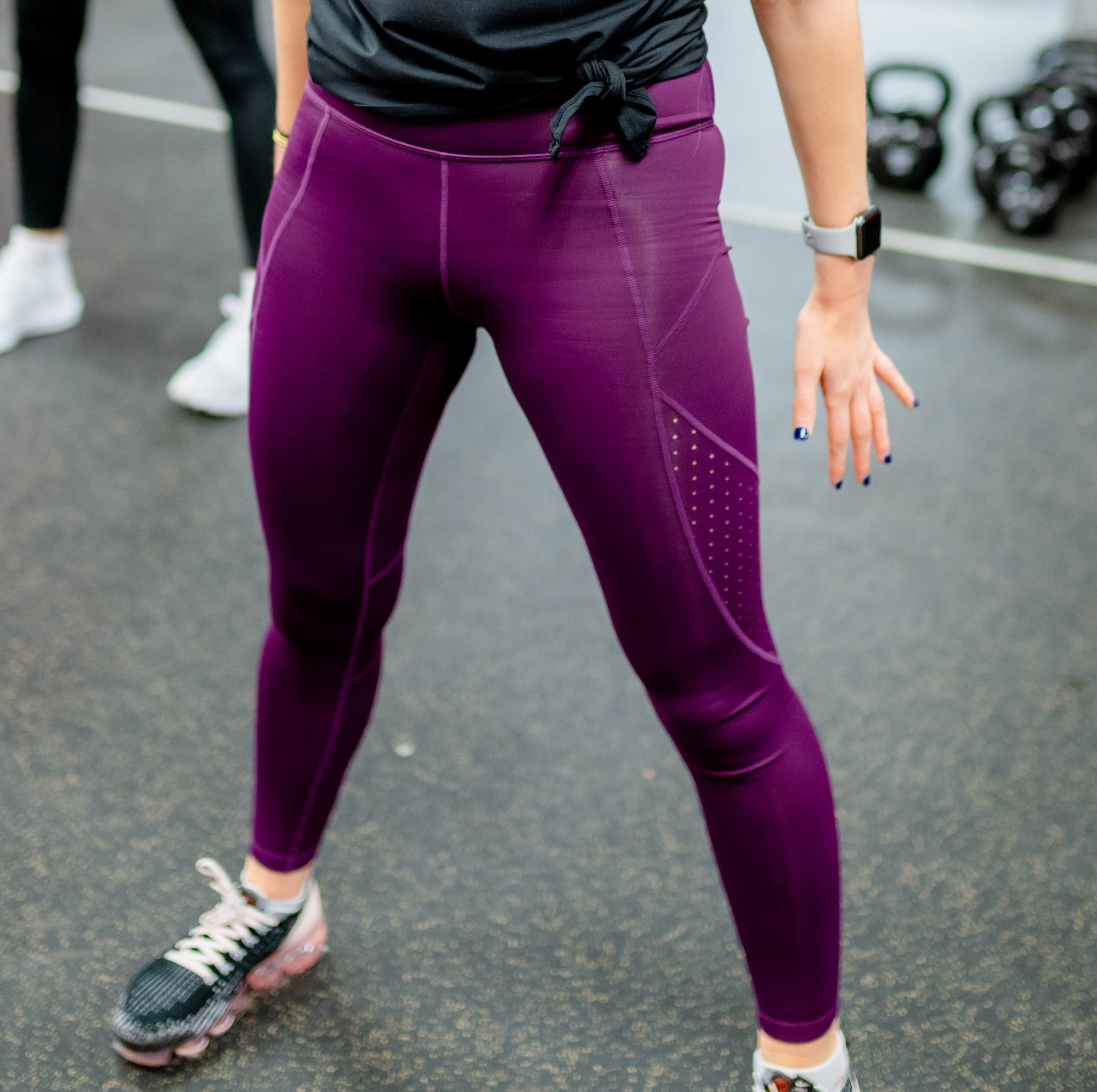 The Closet Inc Purple Spandex Tights