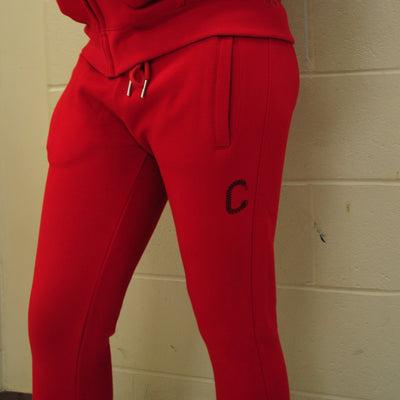 TCI WMNS FLC Z PANTS  – RED