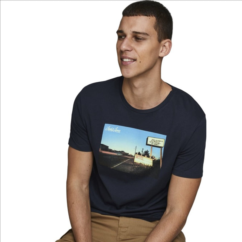 Men's Jack and Jones Jorcafe Tee SS