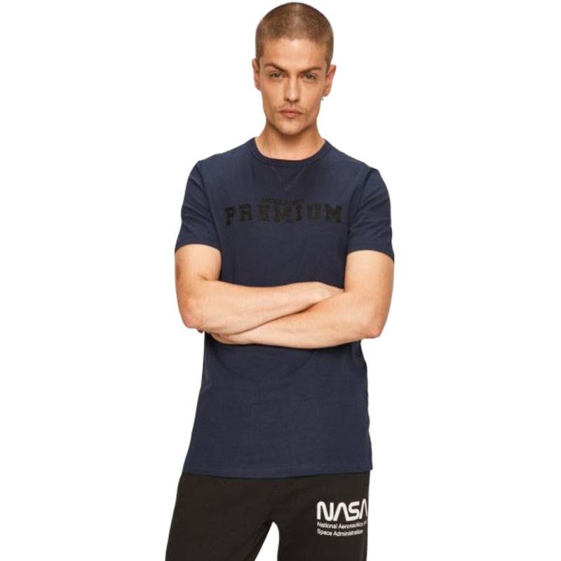 Men's Jack and Jones Jprcas Bla. Tee SS Pre