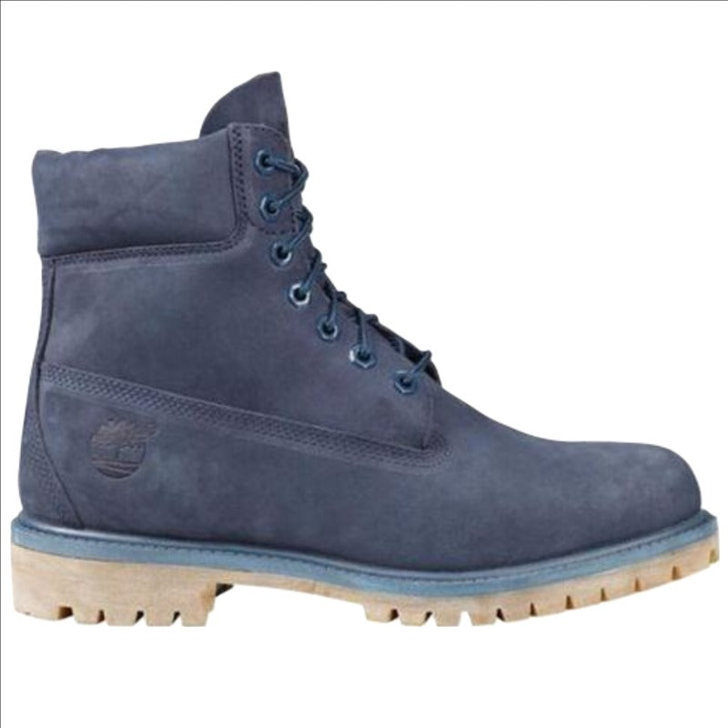 Men's 6in Premium Timberland Boot Navy Nubuck