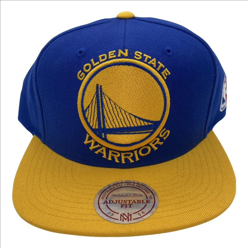GOLDEN STATE WARRIORS MITCHELL AND NESS SNAPBACK