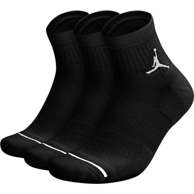 Unisex Jordan Jumpman High-Intensity Quarter Sock (3 Pair)