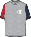 MENS CHAMPION HERITAGE COLORBLOCK SS TEE