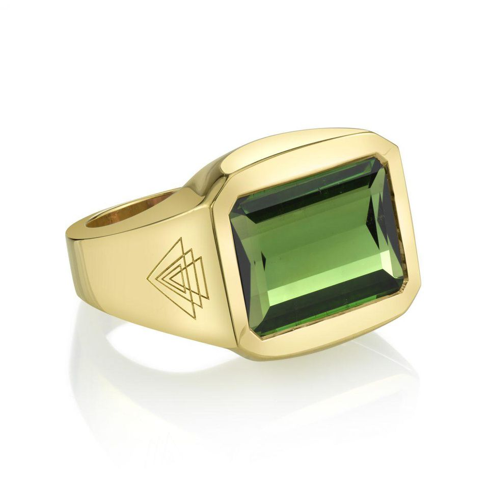 Green Tourmaline Creation Ring in Forbes