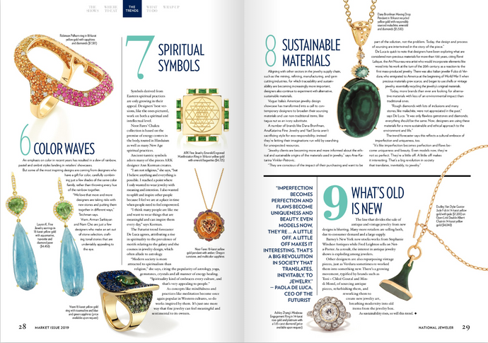 "The Jewelry Trends to Seek Out During Vegas Market Week- ARK "" Spiritual Symbols"""