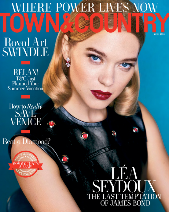 All Diamond Gateways Ring featured in Town & Country Magazine