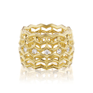 Dreamweaver Diamond Ring