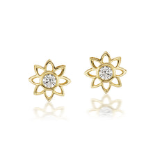 Load image into Gallery viewer, Bliss Stud Diamond Earrings