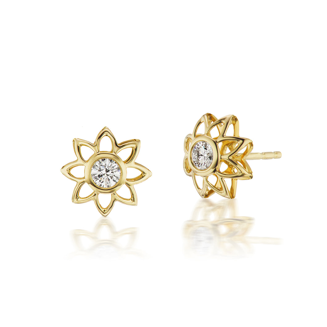 Bliss Stud Diamond Earrings