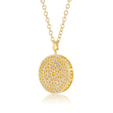 Load image into Gallery viewer, Diamond Dreamscapes Gold Necklace