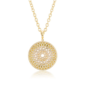Diamond Dreamscapes Gold Necklace