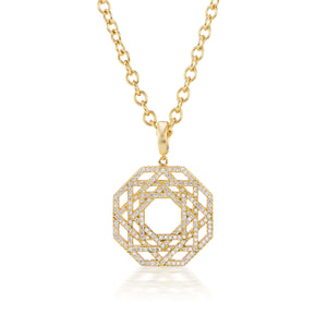 Diamond Shakti Necklace