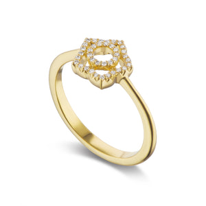 Padma Diamond Ring