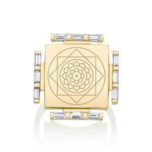 Load image into Gallery viewer, Engraved Manifestation Pinky Ring with Vijaya Nitya