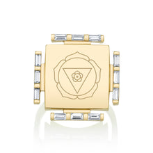Load image into Gallery viewer, Engraved Manifestation Pinky Ring with Nitya Bhagamalini