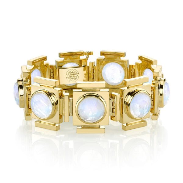 Large Moonstone Gateways Bracelet