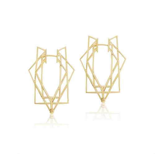 Shakti Gold Hoop Earrings