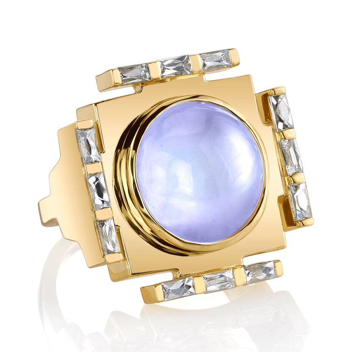 Manifestation Moonstone Ring