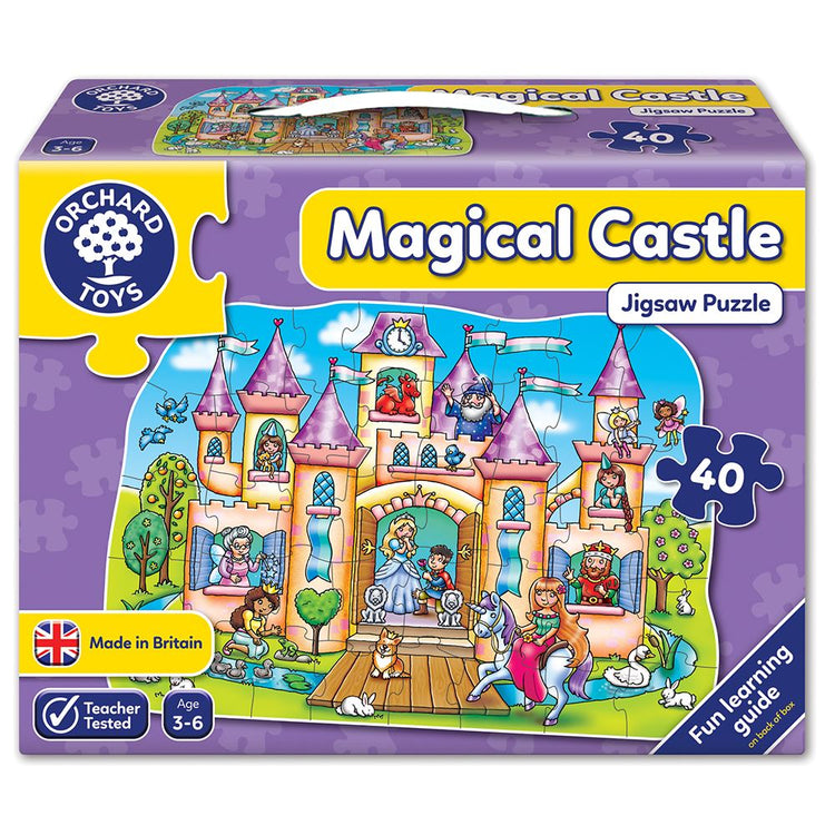 Magical Castle Puzzle