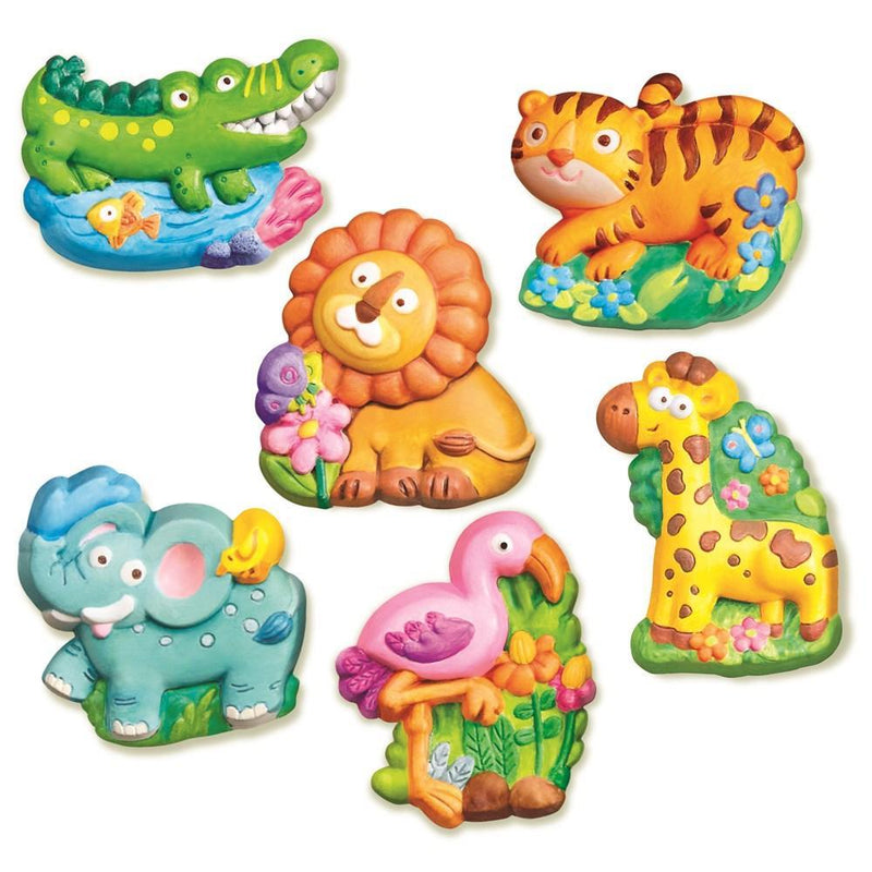 4M Mould & Paint - Zoo Animals