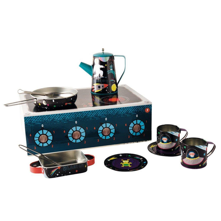 Space 10 Piece Tin Kitchen Set by Floss & Rock